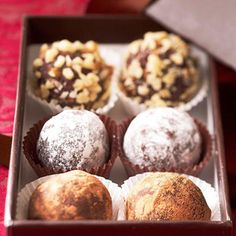Sweet Cherry Truffles From Better Homes and Gardens, ideas and improvement projects for your home and garden plus recipes and entertaining ideas.