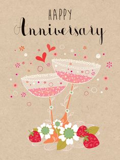 Happy Anniversary (W465) Anniversary Luxury Card by Hillberry. Card features raised textures www.thewhistlefish.com/product/w465-happy-anniversary-luxury-card-by-hillberry