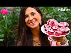 FullyRaw Red Velvet Cupcakes with Strawberry Vanilla Icing! - YouTube