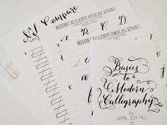 Digital Download of Basics to Modern Calligraphy Kit