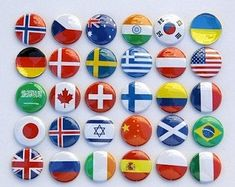 World Flags Printable Banner Includes 65 flags with names | Etsy World Flags Printable, Printable Banner, Zimbabwe Flag, Flags With Names, Magnetic Calendar, Flag Banners, Button Picture, Flags Of The World, Stocking Stuffers