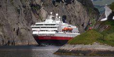 MS Nordnorge at Trollfjorden