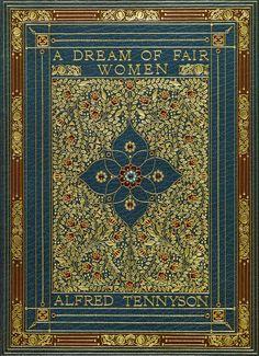 an Alerbto Sangorski Illuminated Manuscript Tennyson, Alfred. A Dream of Fair Women. London. Manuscripts by Alberto Sangorski older brother of Francis re Sangorski and Sutcliffe Book binders sold 15,000 USD Manuscript on vellum
