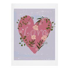 Joy Laforme Love your Valentine Art Print | DENY Designs Home Accessories