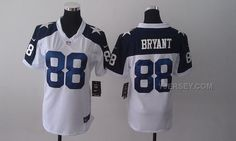 http://www.yjersey.com/nike-cowboys-88-bryant-white-thanksgiving-women-game-jerseys-for-sale.html NIKE COWBOYS 88 BRYANT WHITE THANKSGIVING WOMEN GAME JERSEYS FOR SALE Only $36.00 , Free Shipping!