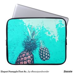Elegant Pineapple Float Artwork | Laptop Sleeve Custom Laptop, Best Laptops, Personalized Products, Laptop Sleeves, Create Your Own, Technology, Elegant, Artwork, Tecnologia