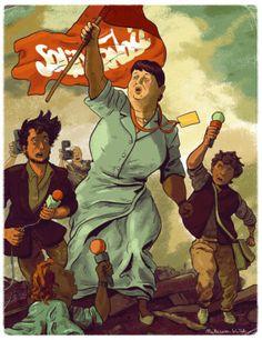 Więcej na http://www.dzikabanda.pl/galerie/autorskie/mateusz-kolek-galeria/  Solidarność