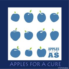 November Apples For A Cure Original Art Apple Giveaway! Submit the name of someone you love. Click image to see more details. Ra Arthritis, Ankylosing Spondylitis, Endometriosis, Book Crafts, Apples, Drugs, Giveaway, The Cure, Original Art