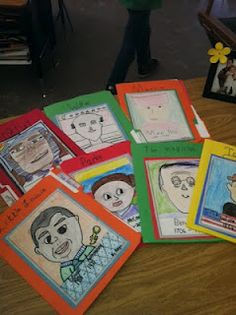 Biography unit that incorporates writing, art, technology, and speaking.