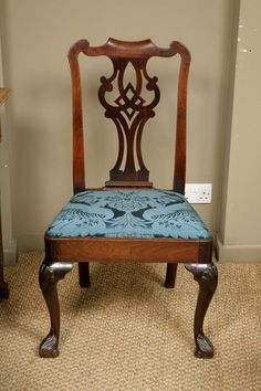 Irish Mahogany Side Chair circa 1740