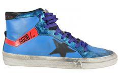 Golden Goose Blue Sneakers