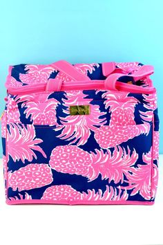 Lilly Pulitzer Insulated Cooler Flamenco