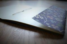 Schnelles DIY Notizheft aus Wachspapier