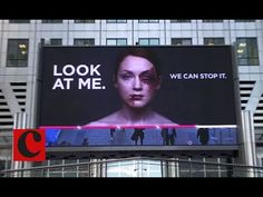 Look At Me: Women's Aid interactive billboard - YouTube