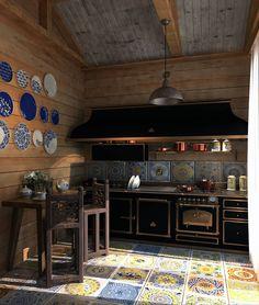 Fotos de Cozinhas Rústico por AnARCHI