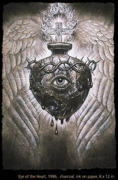 Eye of the Heart, Alex Grey 1996