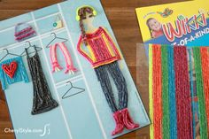 We designed 4 scenes that make the perfect backgrounds for Wikki Stix sculptures!  Just print, laminate, and keep the kids happy, busy and mess-free again and again! | CherylStyle.com