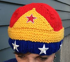 Ravelry: Every Woman is Wonder Woman pattern by Emily Ingrid