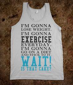 I'm gonna workout gym tank top tee t shirt