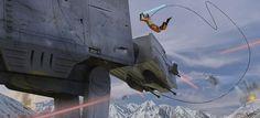 Fine Art: Luke Skywalker, That Is An Unorthodox Approach | Kotaku Australia