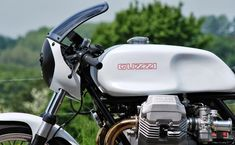 Black and White Moto Guzzi Le Mans 3 ~ Return of the Cafe Racers