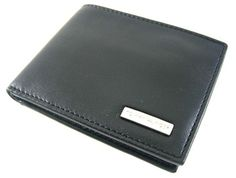 Tommy Hilfiger Stockton Black Passcase Billfold Wallet - Tommy Hilfiger Wallets - Designer Wallets