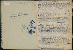 A Rare Look at Samuel Beckett's Doodle-Filled Notebooks   Brain Pickings