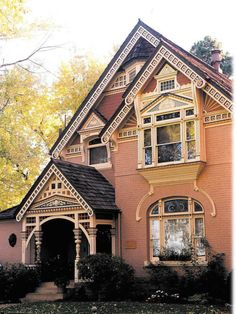 Victorian House. I love houses with character, maybe someday would love to retire to something like this.