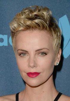Astonishing Blonde Celebrities Short Blonde And Celebrity Hairstyles On Pinterest Hairstyles For Women Draintrainus