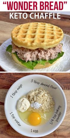 Low Carb Keto, Low Carb Recipes, Waffle Maker Recipes, Egg Waffle Recipe, Keto Waffle, Keto Lunch Ideas, Simple Lunch Ideas, Keto Snacks, Keto Dinner