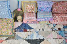 pillows & rug! ledansla