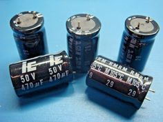 (50) 477RMR050M 470uF 50V 105°C 20% RADIAL ELECTROLYTIC ILLINOIS CAPACITOR #ILLINOISCAPACITOR