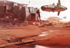 ArtStation - Colonie 2, sparth .