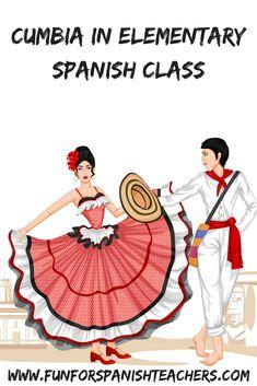 Fun for Spanish Teachers: Cumbia in Elementary Spanish Class Spanish Words, Spanish Lessons, Spanish Sayings, Spanish Teacher, Spanish Classroom, Spanish Language Learning, Teaching Spanish, Learn Spanish Online, Elementary Spanish