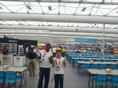 The Olympian's restaurant and Team GB Judo squad members