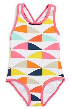 Marimekko 'Polsku' One-Piece Swimsuit (Baby Girls) available at #Nordstrom - crying so cute