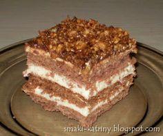 Moje pyszne, łatwe i sprawdzone przepisy :-) : kakaowy miodownik z prażonymi orzechami i czekoladą Tiramisu, Food And Drink, Baking, Ethnic Recipes, Cakes, Kitchen, Cooking, Cake Makers, Bakken