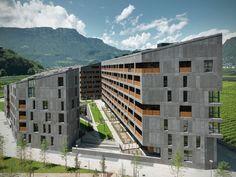 """Vivienda Social """"CasaNova"""" by cdm architetti associati (Bolzano, Italia) #architecture"""