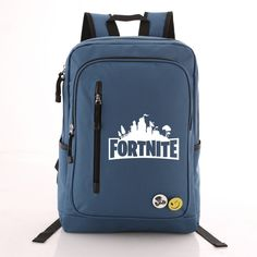 b883afc6ad73 FORTNITE Large Canvas Backpack School Bag Free Shipping – DjTrading Canvas  Backpack