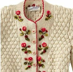 Back Stitch Embroidery On Knitting : 1000+ images about Embroidery on Pinterest Embroidery, Cross stitch and Cro...