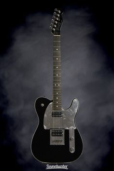 Squier John 5 Signature Telecaster - Black | Sweetwater.com | Solidbody Electric Guitar with Alder Body, Maple Neck, Rosewood Fingerboard, and Two Humbucking Pickups - Black