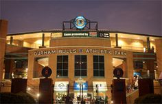 #TimeToSee No better way to spend a summer night in Durham, especially with fireworks! Front of Durham Bulls Athletic Park