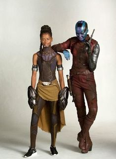 Strong marvel women Shuri and Nebula Marvel Dc Comics, Marvel Avengers, Marvel Women, Marvel Girls, Marvel Art, Marvel Heroes, Nebula Marvel, Marvel And Dc Characters, Marvel Movies