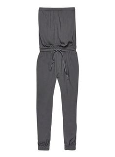 TABATA JUMPSUIT #aritziacleanslate Strapless Jumpsuit, Tabata, Single Piece, Piece Of Clothing, Retail Therapy, Spring Summer Fashion, Style Me, Rompers, Sweatpants