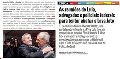 """Como a imprensa brasileira é um panfleto de propaganda da Operação Lava Jato, notícia considerada """"ruim"""", porque revela a natureza manipuladora de algumas atitudes de delegados e promotores não sai. Para saber do """"lado..."""