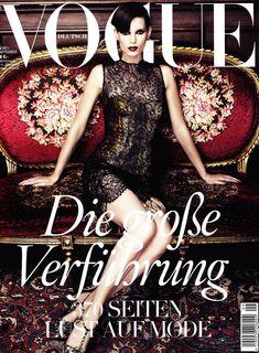 Vogue Germany, September 2011 #cover | Iris Strubegger by Alexi Lubomirski