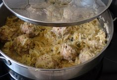Hungarian Recipes, Hungarian Food, Meat Recipes, Main Dishes, Clean Eating, Food And Drink, Rice, Chicken, Diet
