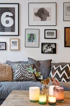 Apartamento pequeno encantador e inspirador ~ Decoração e Ideias - casa e jardim