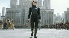 'The Hunger Games: Mockingjay -- Part Trailer Is Epic as Jennifer Lawrence . Mockingjay Part 2 The Hunger Games, Hunger Games Mockingjay, Katniss And Peeta, Mockingjay Part 2, Hunger Games Catching Fire, Hunger Games Trilogy, Katniss Everdeen, Best Movie Trailers, New Trailers