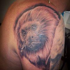 Mico leão dourado, by Breno Reis tattoo